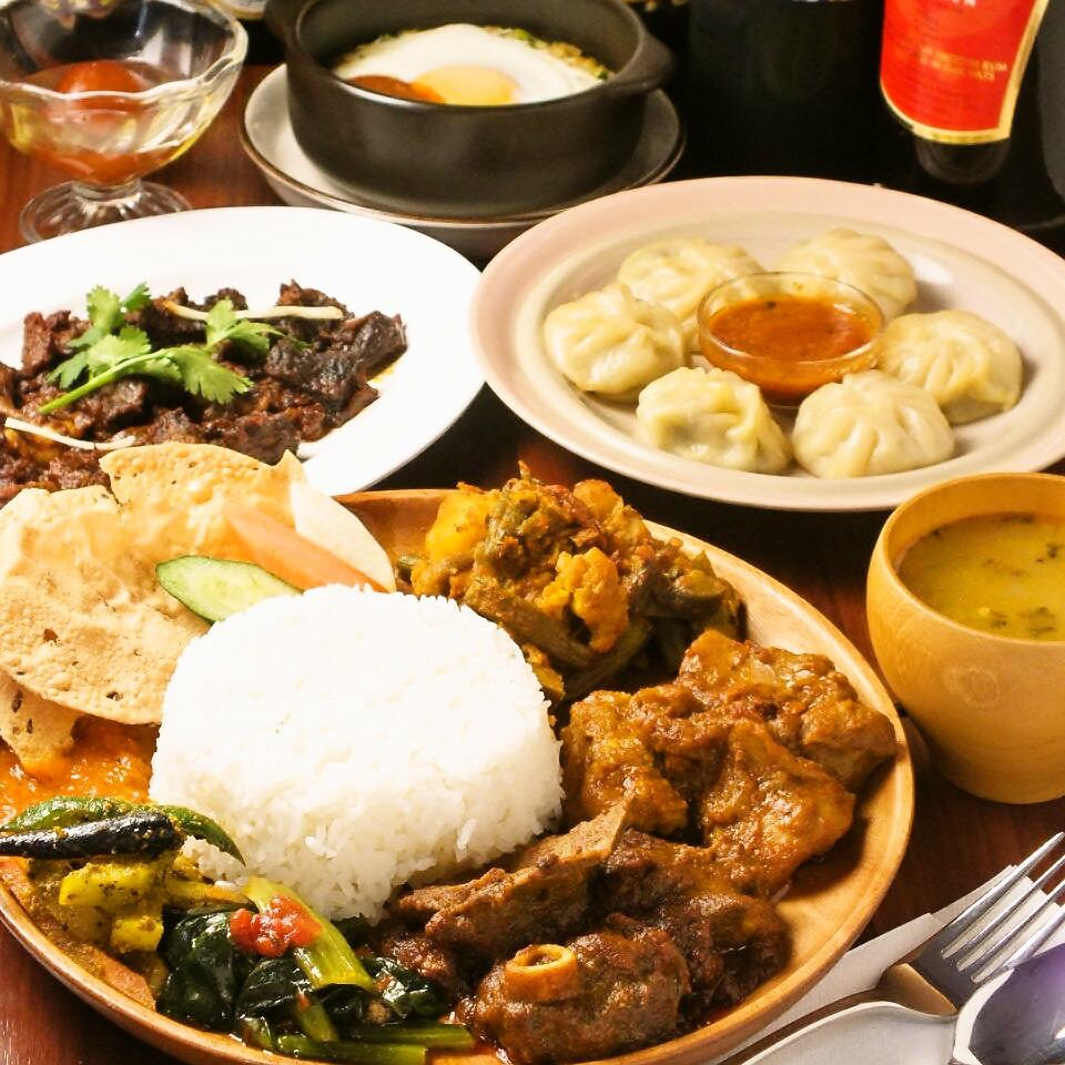 Otsuka Station North walk about a minute and a half! Rare authentic Nepalese food specialty store ★