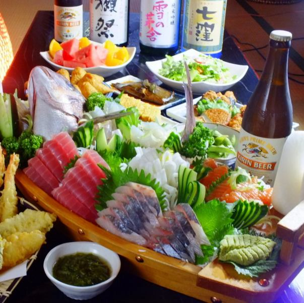 【Summer Banquet】 Yokohama Shogun + singing & drinking all you can do 【Shimokase course】 ⇒ 8640 yen