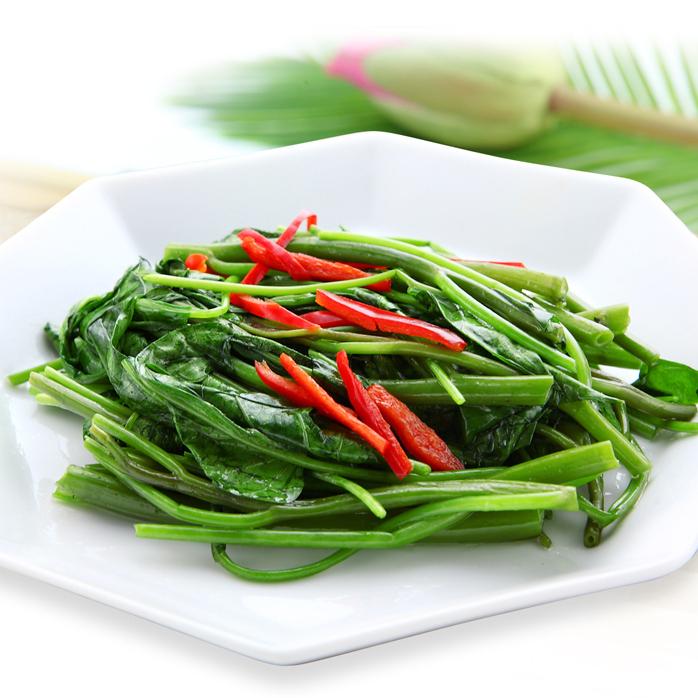 Stir-fried special sauce of Sky Cordycean 【Photo】 / Stir-fried XO sauce of broccoli