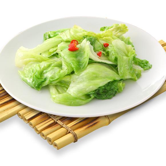 Stir-fried special sauce of lettuce [※ photo] / stir-fried tofu