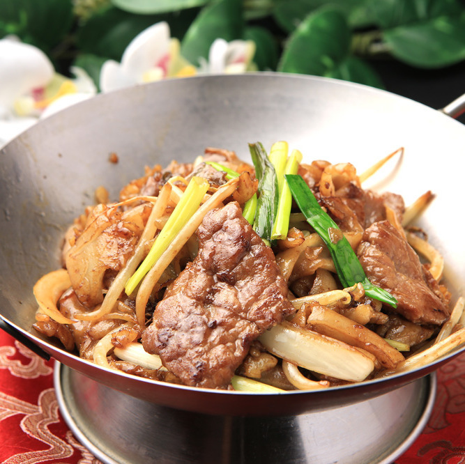 Dried pot Beef grilled rice vine ※ 【Photo】 / Boiled salted fish and chicken tofu Eartan pot