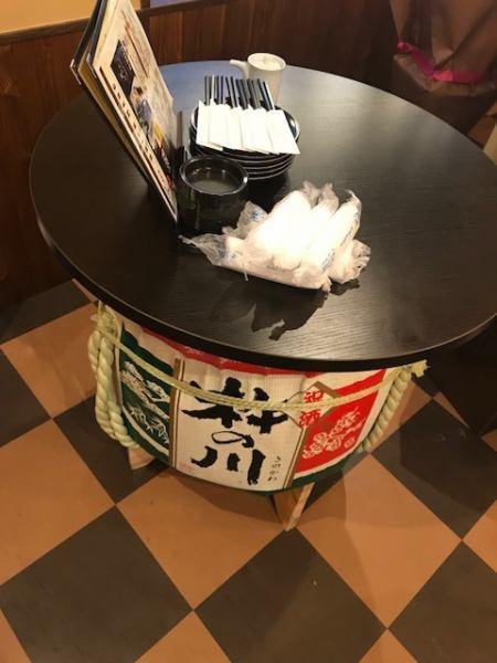 使用桶的站立式飲水台也很好。我們也有一把輔助椅子,所以我們可以坐好並且環繞它好♪我們可以根據各種場景使用按摩酒館和其他人!