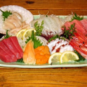 It deals sashimi platter of Sakanatora