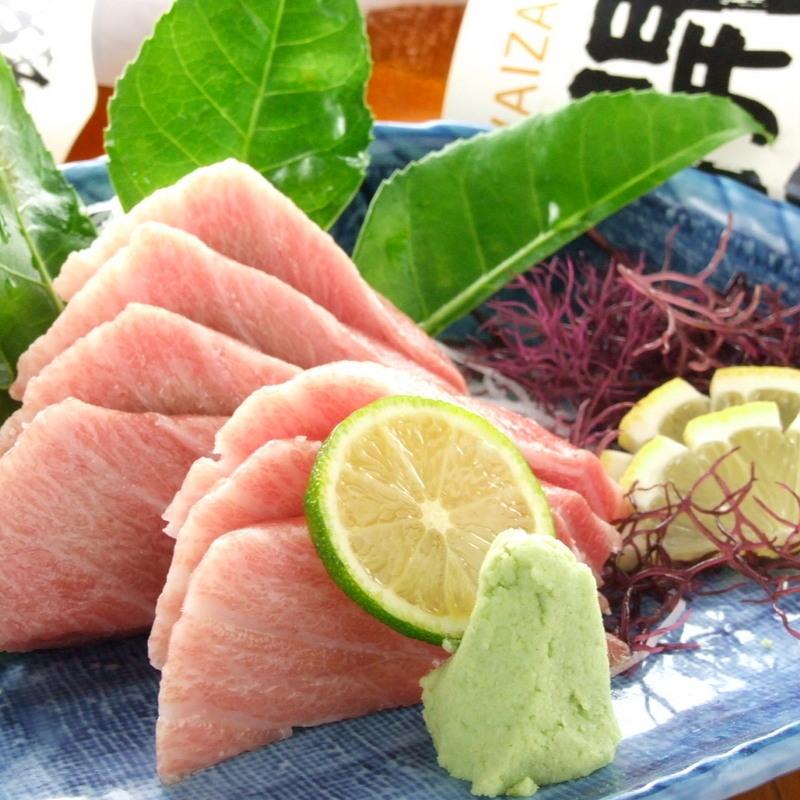 金枪鱼生鱼片