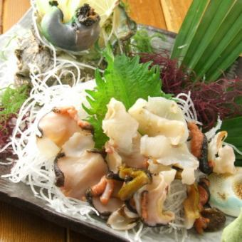 Sashimi of turban
