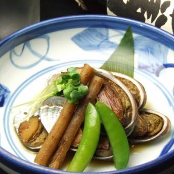 トコブシ貝煮