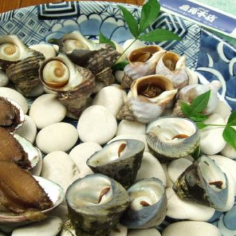 贝类Dzukushi烤