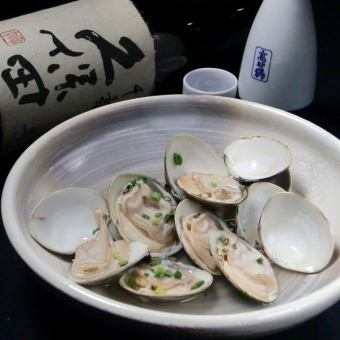 Small clam liquor steamed