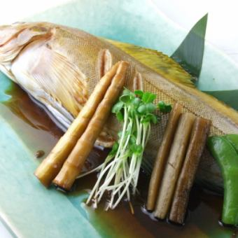 Greenling boiled