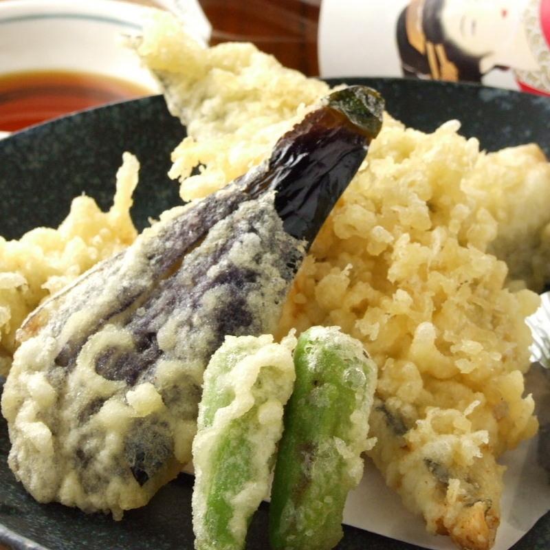 Anago tempura