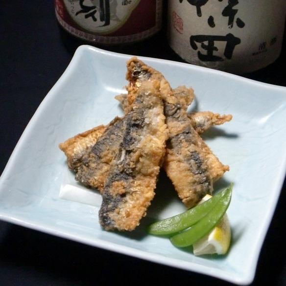 Deep-fried sardine Ryuta