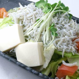 白砂豆腐沙拉