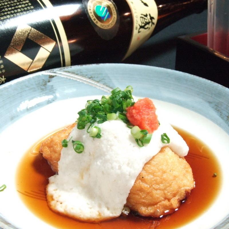 Deep-fried Ebisu
