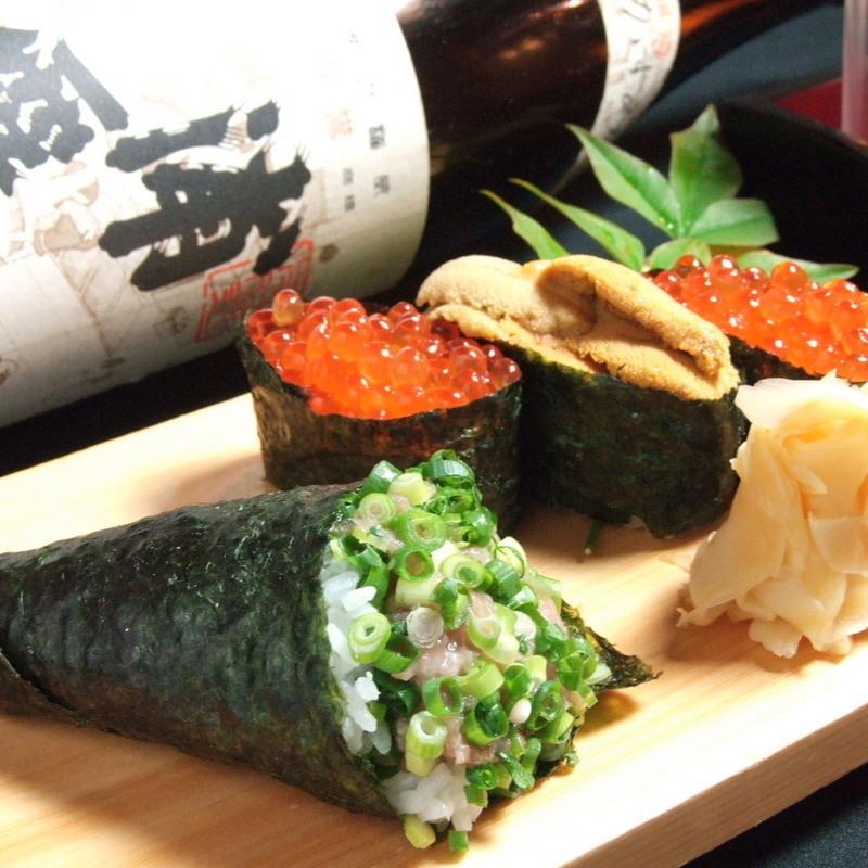 漁師さんのつまみ寿司