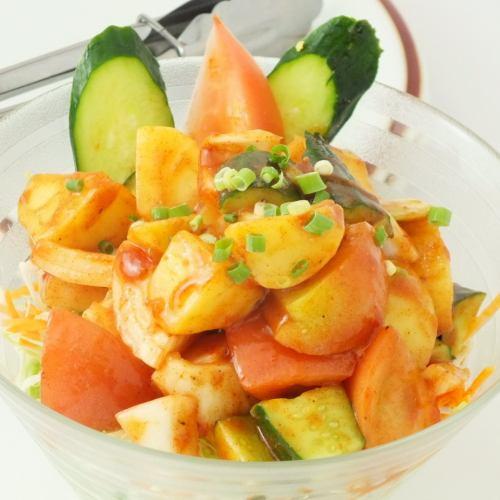 ピリ辛アルチャットサラダ Aluchat Salad