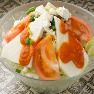 パニールサラダ Paneer Salad