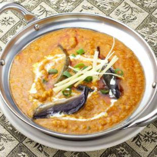 ベイガンキーマカレー Beigan Keema Curry