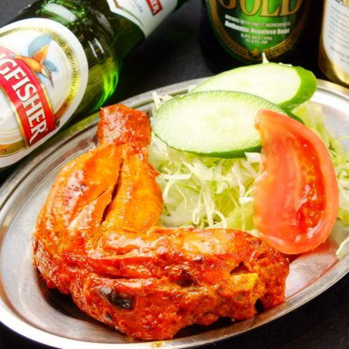 タンドリーチキン Tandoori Chicken