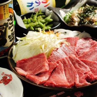 《偶の焼肉パック》料理6品+90分飲み放題  4000円