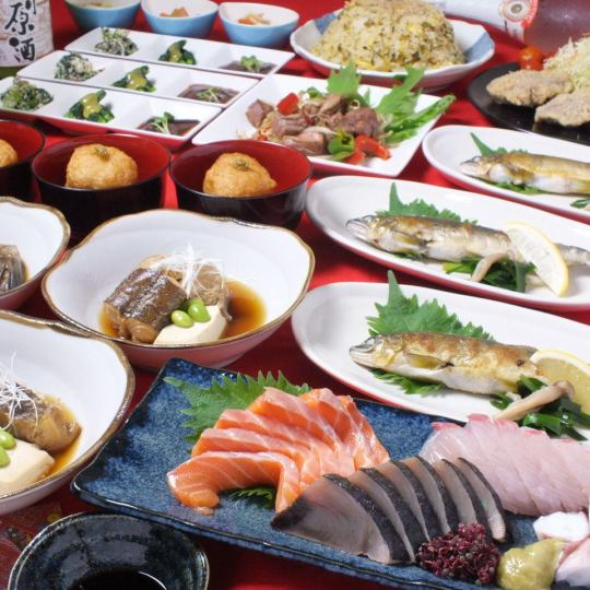 Hanaoki Special Course (with 2 hours of all you can drink) 4000 yen