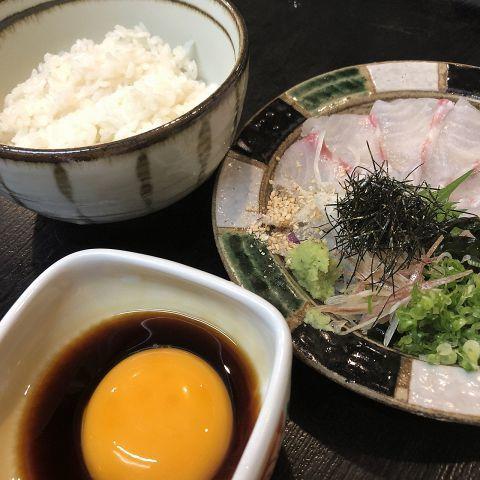 生鯛めし/生鯛茶漬け