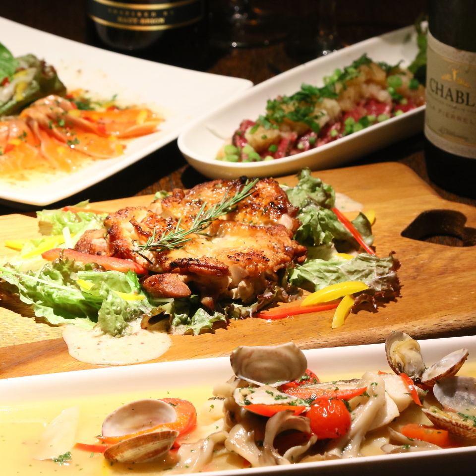 망년회 예약 접수 중! 낚시 고기를 즐길 수있는 연회 코스는 5000 엔입니다 ♪ 20 명부터 전세 ◎