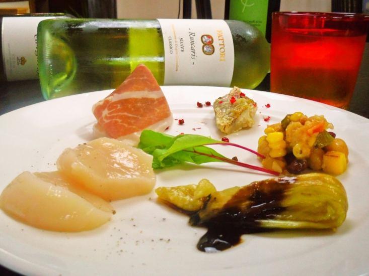 食材の仕入れと、自家製にこだわったワンランク上のイタリアン