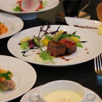 【ディナータイム】Cucina Course * クチーナコース *