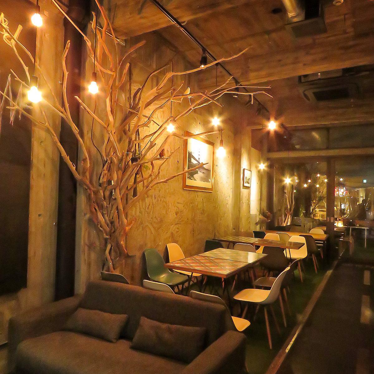 ♪ fashionable designer's cafe with parks theme ♪ use courtyard OK ★