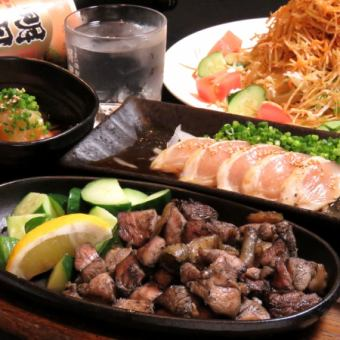 Sun - Tree only! 【4 dishes + all you can drink 70 minutes with 2000 yen! Recommended for the second session ♪】 Takasugi Shinsaku set