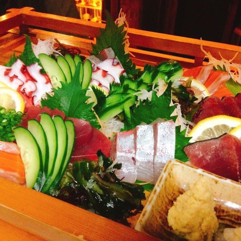 Sashimi prime (1 serving)