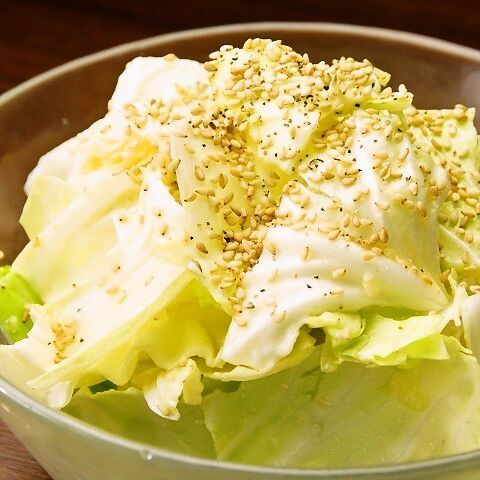 Sesame Salt Cabbage