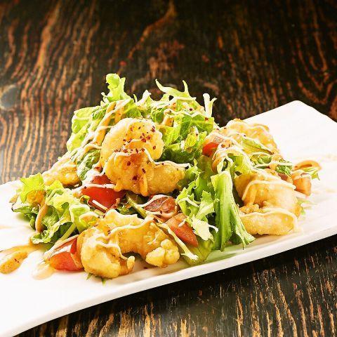 Ebichiri salad