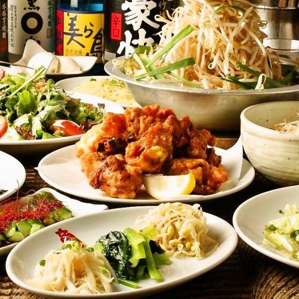 【각종 연회】 빨강 지리 음료 뷔페 포함 코스 2,980 엔