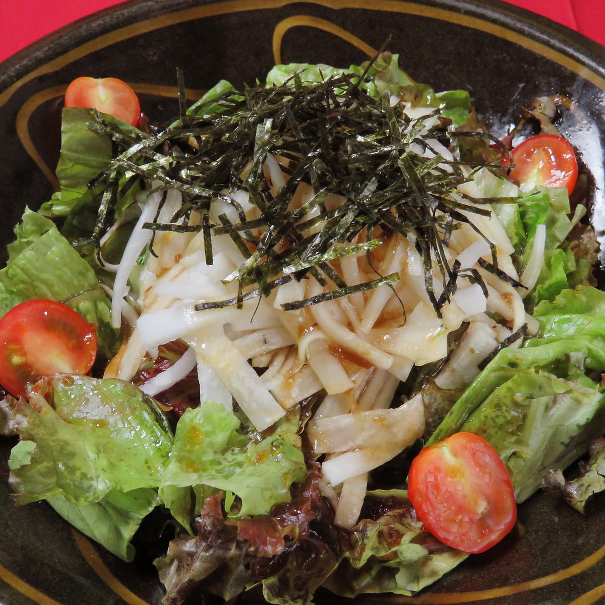 Shakuyaki萝卜沙拉