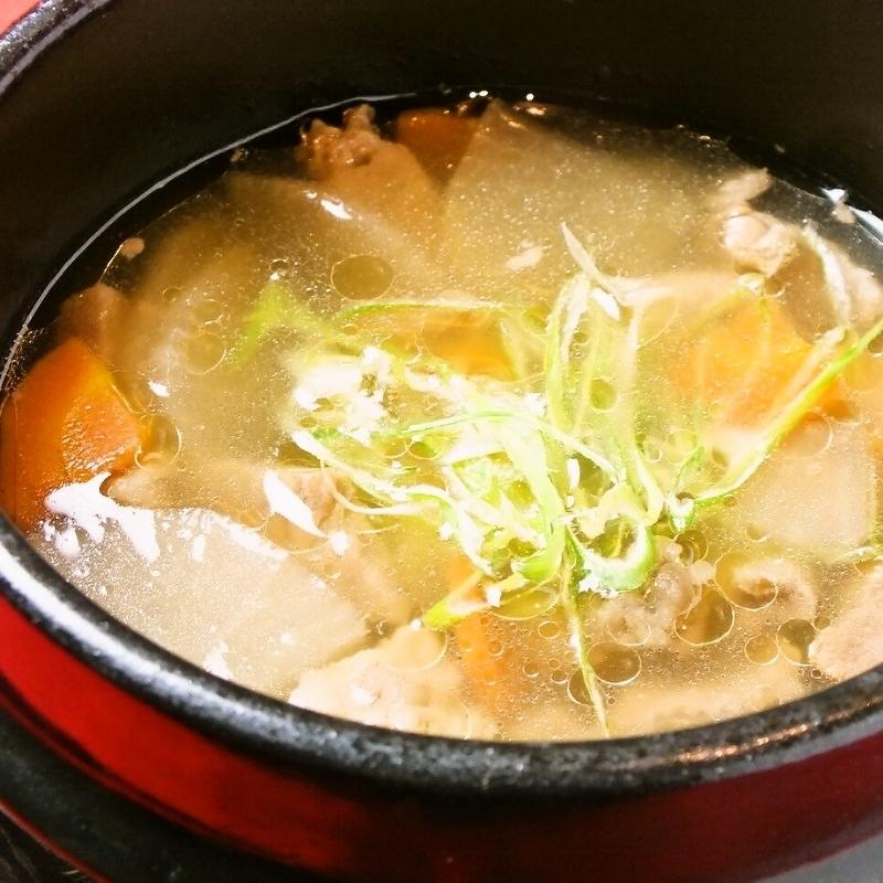 牛スジスープ