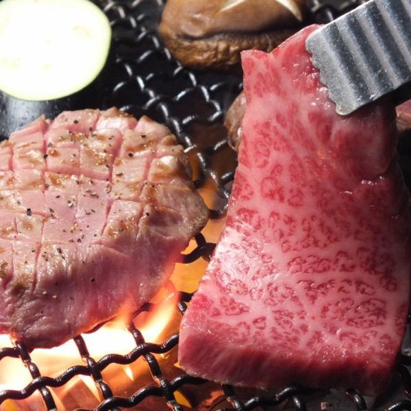[〜肉也680日元分别]享受高品质的肉!
