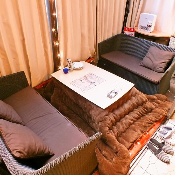 【Kotatsu seat ★ ★ with heaters available】 We can offer you a comfortable place to relax like a house ★ We have a kotatsu seat ★ Available for 2 ~ 6 people.As the reservation is a must-have popular seat, we appreciate your reservation as soon as possible! Even in cold weather the body will be warmer ♪ It is also recommended for dating, as well as girls' society.