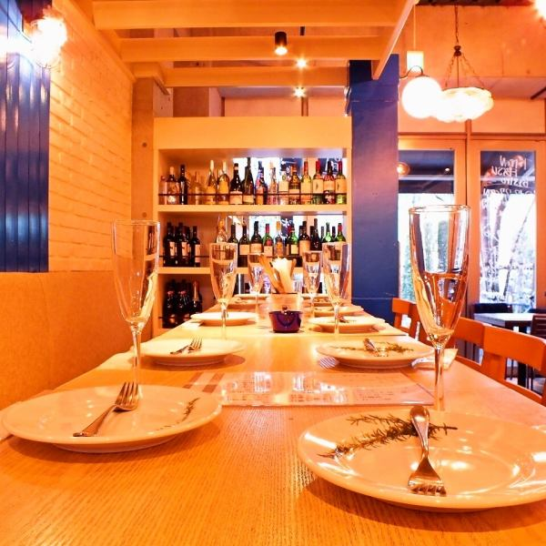 【Ebisu × Meat × Wine】 We have used in a wide range of scenes including banquet, welcome reception party, year-end party, girls' association, birthday party etc ★ We welcome one person as well We are very welcome! One of our boasts is rich in variety Wine and meat.The course is an all - you - can-eat sparkling wine too! The meat menu is available in abundance, such as a rare grill.