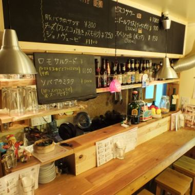 One person or two people, please feel free to come ♪ On the first floor we have a counter and a table seat! Saku drinking after work, the second house after the party, drinking party with colleagues, Dining with a couple ◎ to various scenes
