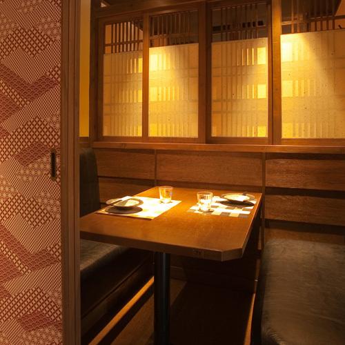 日本現代私人房間適合少數人♪約會·女孩社會◎作為成人藏身處匆匆的話題!治療光所產生的空間是約會,女孩社交,娛樂,各種宴會等的好地方活躍。【天文樓·居酒屋·小屋·包房·當地美食】