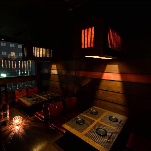 日式現代時尚私人房間空間優秀的女孩'Uke♪有2至40人的私人房間★在歡迎派對·飲酒派對·生日派對·女子協會◎因為它是一個隱藏的小酒館,所以你可以用它來娛樂等。在Tenmonkan在尋找酒吧的時候,來到Kusunoki樹木 -  KUSUNOKI  - 到鹿兒島天文店!【Tenmonkan·居酒屋·靜修·包房·當地美食·肉·年終派對】