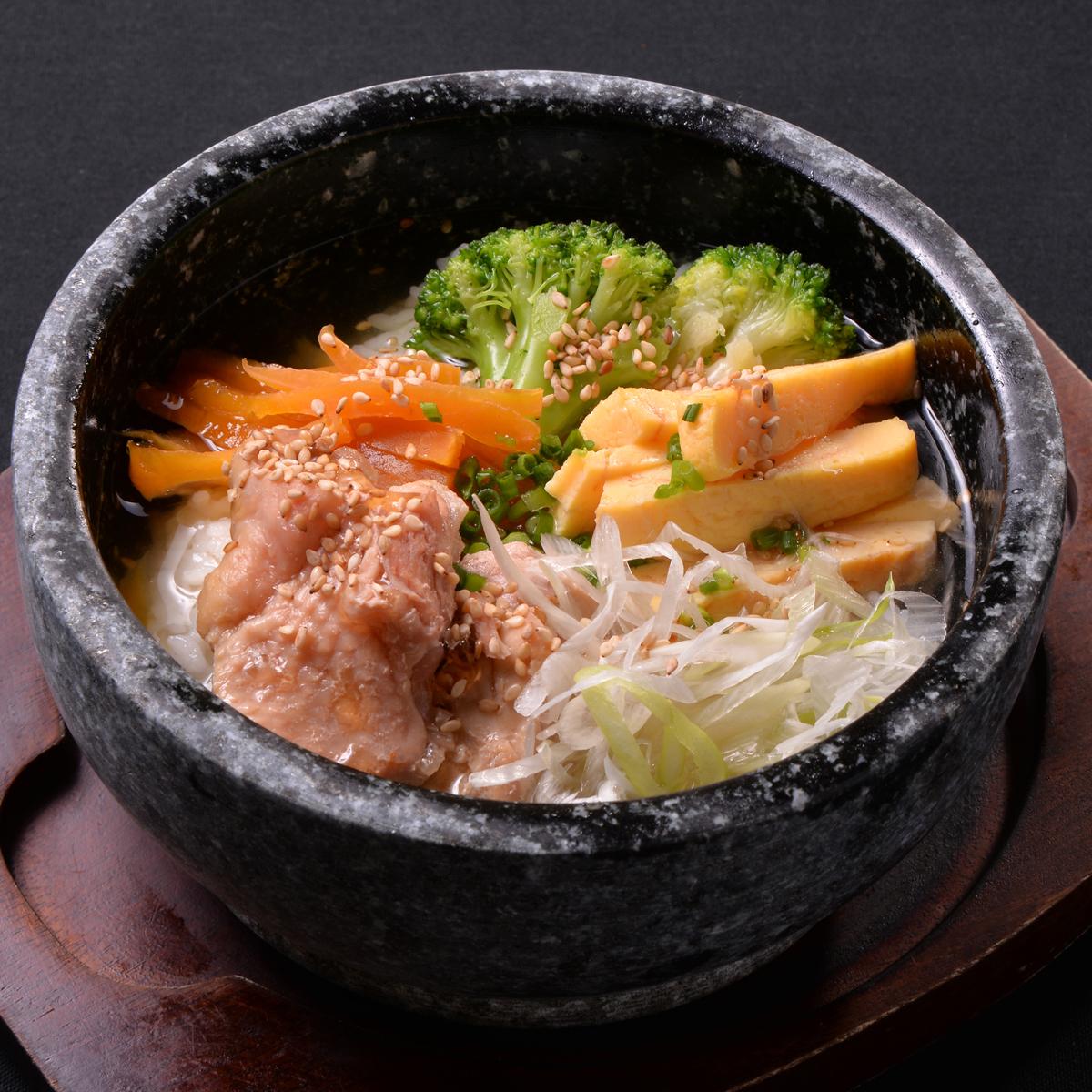 特別雞肉飯拌飯〜用雞湯〜