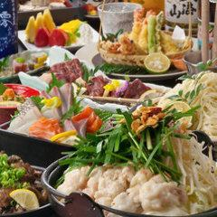 "1/7 ~ 【9 items with all-you-can-drink for 2 hours】 4000 yen】 Recommended by the chef's chef, special product ""Kotoba"" course"