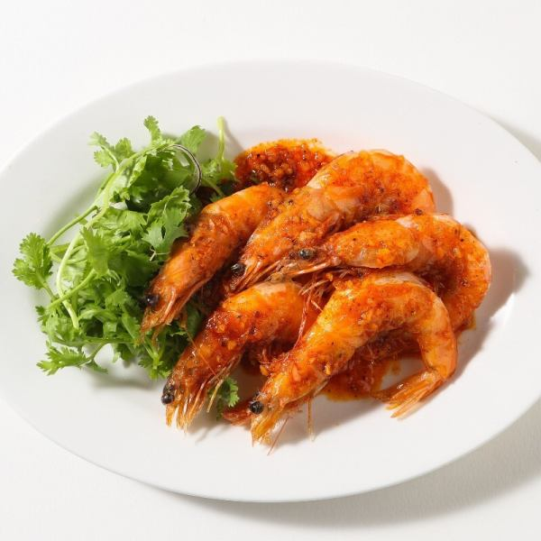 【Limited time only】 60 minutes Garlic shrimp eating all-you-can-drink plan!