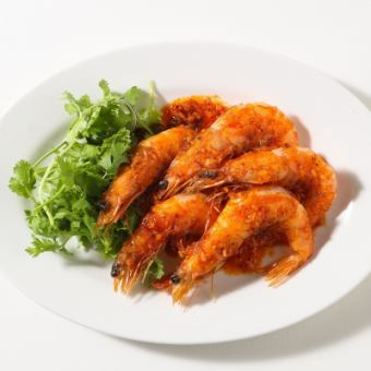 夏威夷大蒜虾