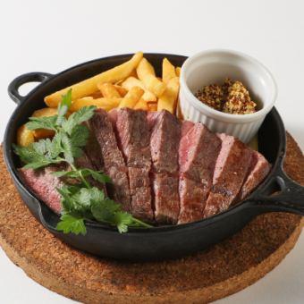 安格斯牛排臀部的肉料牛排(200克)