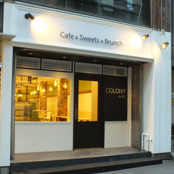 "Cafe which is OPEN in Ame-mura ""COLONY by EQI"" It is a shop of commitment with only professional ""chef"" & ""patissier"" ♪ Cafe / Shinsaibashi / American village / sweets / pancakes / cakes / lunch / fashionable / birthday / date / Women's Association / Colony"