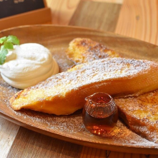 Golden French toast 【Drink set】