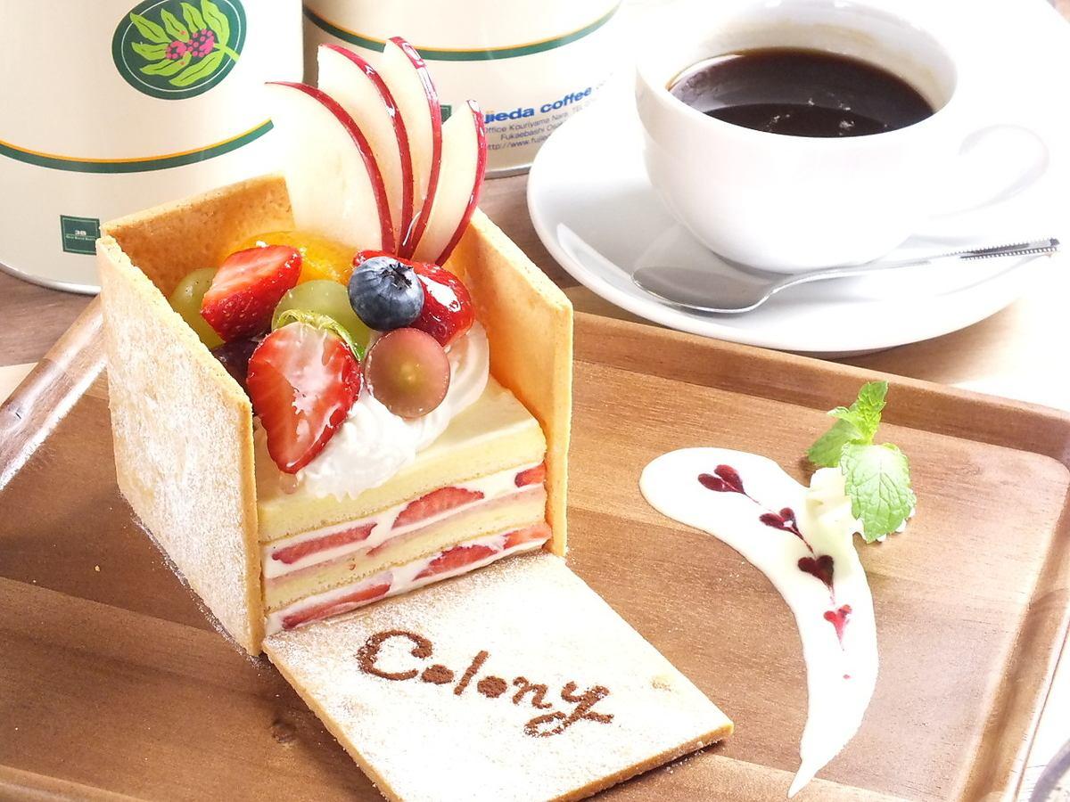 蛋糕屋殖民地的~~季节(草莓)